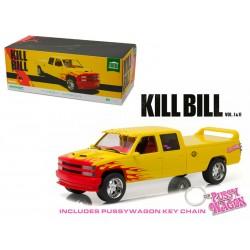 1997 Chevrolet C-2500 Silverado Pussy Wagon Kill Bill 1/18 Scale Diecast Car Model