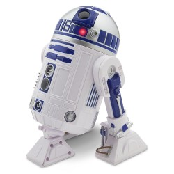 Disney Official Disney Star Wars The Force Awakens 26Cm Talking Interactive R2-D2 Figure With Light & Sounds