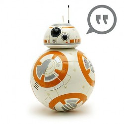Official Disney The Last Jedi Talking Interactive BB-8 Action Figure, Star Wars