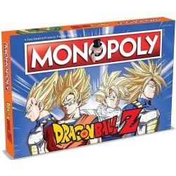Dragonball Z Board Game Monopoly