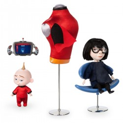 Disney / Pixar The Incredibles 2 Designer Collection PIXAR Animation Studios Series Edna Mode & Jack-Jack Exclusive Doll Set