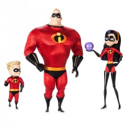 Disney / Pixar The Incredibles 2 Designer Collection Series Mr. Incredible, Violet, & Dash Exclusive Doll Set