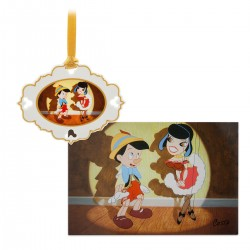 Disney's Pinocchio Artist Series Limited Boxed Ornament and Lithograph Set