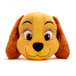 Disney Lady & The Tramp Big Face Pillow