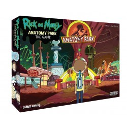 Rick and Morty Board Game The Anatomy Park