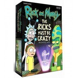 Rick and Morty Multiverse Board Game The Ricks Must Be Crazy