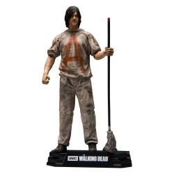 The Walking Dead TV Version Action Figure Savior Prisoner Daryl 18 cm