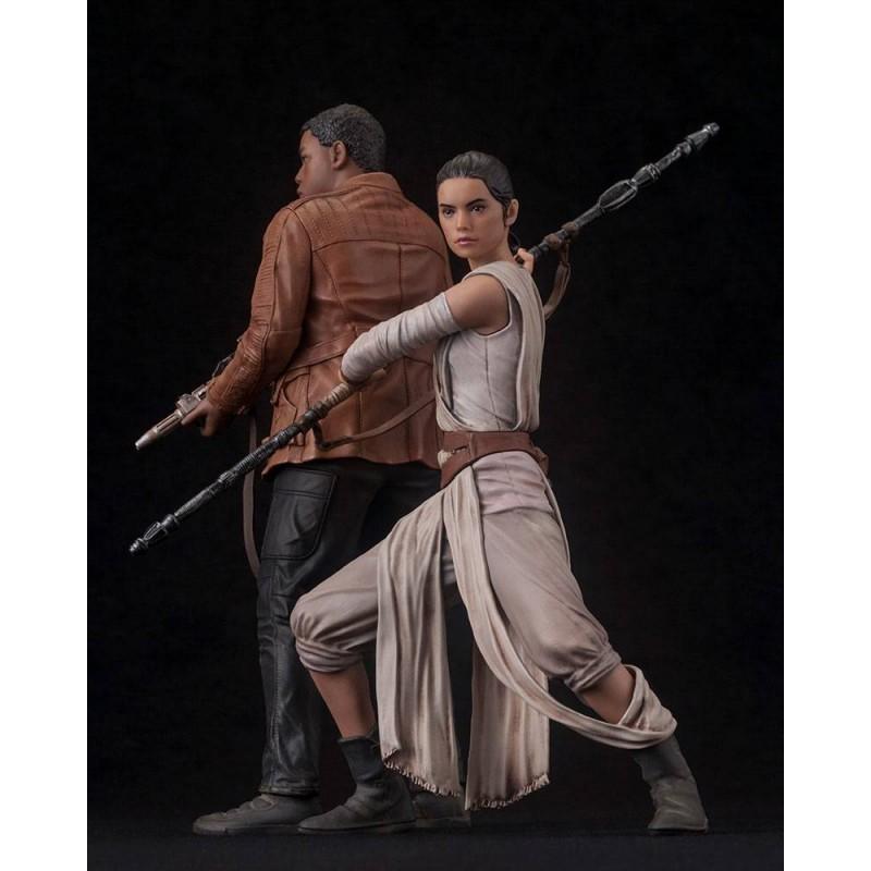 Star Wars Episode VII pack 2 statuettes PVC ARTFX Rey /& Finn 15-18 cm 903276