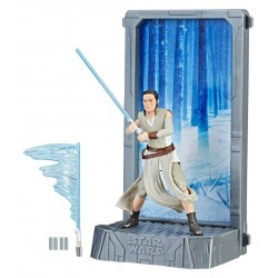 Star Wars Black Series Titanium Series Diecast Rey Figure
