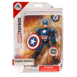 Marvel Captain America Toybox Figure