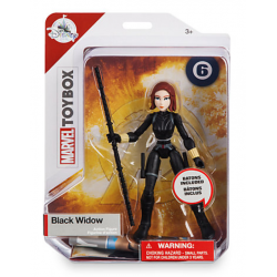 Marvel Black Widow Toybox Figure