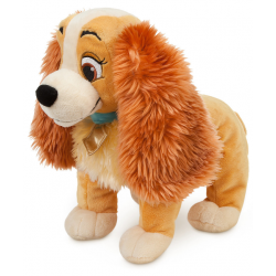 Disney Lady (Lady & De Vagebond) Knuffel Medium