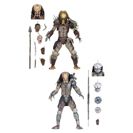 Predator Bad Blood Action Figure 2-Pack Ultimate Bad Blood & Enforcer 20 cm