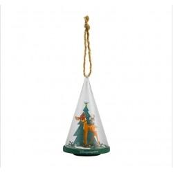 Disney Bambi & Thumper Glass Cone Ornament