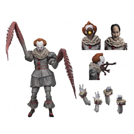 Neca IT: Ultimate Dancing Clown Pennywise 7 inch Scale Action Figure