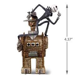 Hallmark Keepsake Ornament 2018 Year Dated, Tim Burton's The Nightmare Before Christmas Jack vs. The One-Armed Bandit