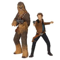 Hallmark Keepsake Christmas Ornaments, Star Wars Story Han Solo and Chewbacca
