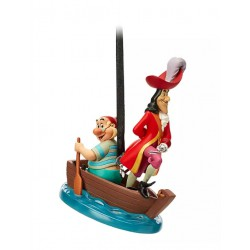 Disney Captain Hook and Smee Hanging Ornament, Peter Pan