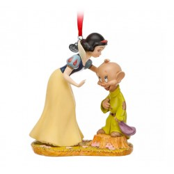 Disney Snow White and Dopey Hanging Ornament