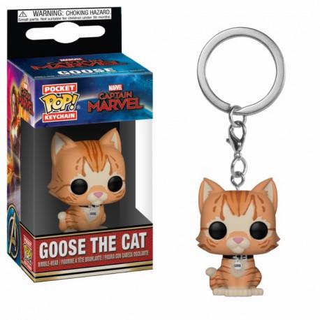 Pocket Pop Keychains: Marvel - Goose the Cat