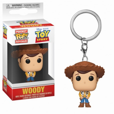 Pocket Pop Keychain: Toy Story - Woody