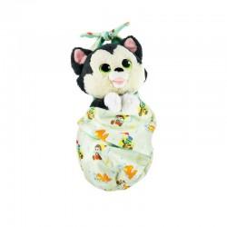 Figaro Plush with Blanket Pouch – Pinocchio – Disney Babies