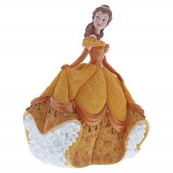 Enesco Disney Showcase Couture De Force Belle Stone Resin Figurine