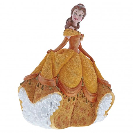 Enesco Disney Showcase Couture De Force Belle Stone Resin Figurine