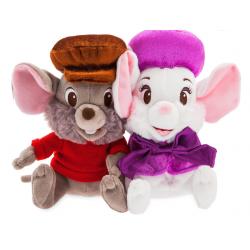 Bernard & Bianca Duo Pluche Small