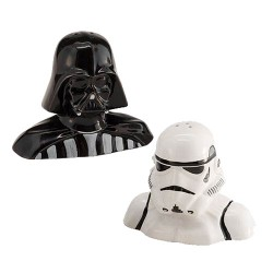 Star Wars Salt and Pepper Pots Darth Vader and Stormtrooper