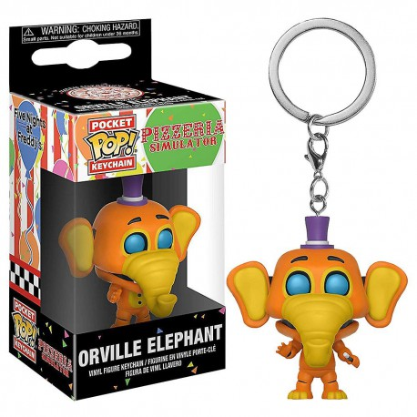 Funko Pocket Pop Pizzaria Simulation Orville Elephant