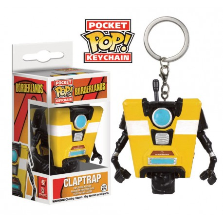 Funko Pocket Pop Keychain Borderlands Claptrap