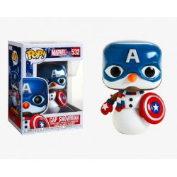 Funko Pop 532 Marvel Holiday Captain America