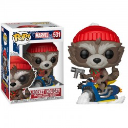 Funko Pop 531 Marvel Holiday Rocket