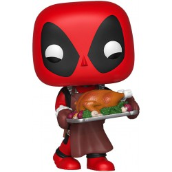 Funko Pop 534 Marvel Holiday Deadpool