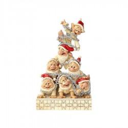Enesco White Wonderland Seven Dwarfs Figure Standard