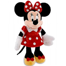Disney Minnie Mouse Red Dress Pluche