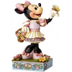 Jim Shore Disney Traditions by Enesco Easter Minnie Mouse Figurine