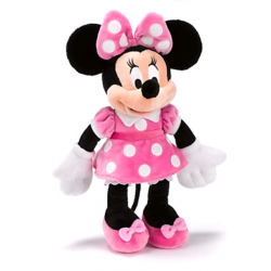 Disney Minnie Mouse Pink Dress Pluche