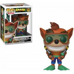 Funko Pop 421 Crash Bandicoot With Scuba Gear