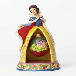 Enesco Disney Princess Jim Shore Snow White Christmas Figure