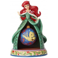 Jim Shore Disney Traditions Tidings Of Wonder Ariel Mermaid Figurine