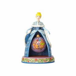 Enesco Jim Shore Disney Traditions Tidings of Friendship Cinderella Figurine