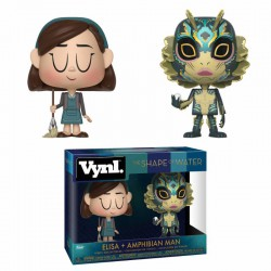 Vinyl Duo-Pack The Shape Of Water Elisa & Amphibian Man