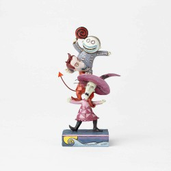 Jim Shore Disney Traditions by Enesco Lock Shock and Barrel Stacked Figurine
