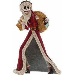 Enesco The Nightmare Before Christmas Santa Jack Stone Resin Figurine