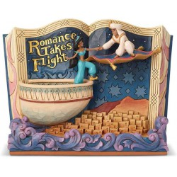 Enesco Disney Traditions by Jim Shore Storybook Aladdin Figurine