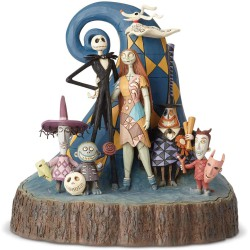 Enesco Disney Traditions by Jim Shore Nightmare Before Christmas Carved by Heart Figurine