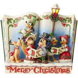 Enesco Disney Traditions by Jim Shore Storybook Christmas Carol