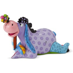 Enesco Eeyore with Butterfly from Disney by Britto Line Figurine